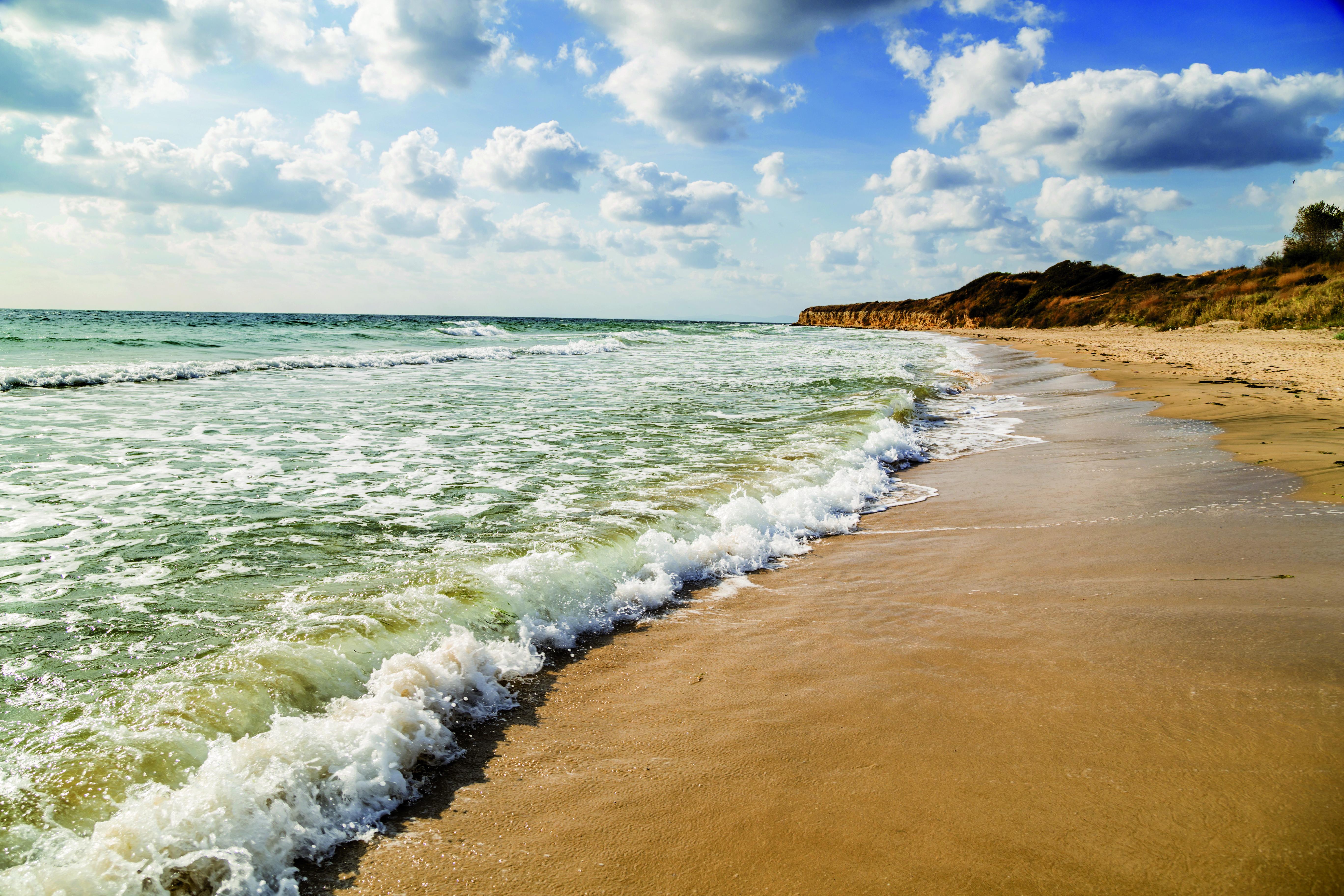 Empty beautiful beach