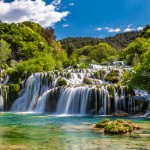 Waterfall In Krka National Park -Dalmatia, Croatia