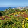 Tropical Botanical Gardens in Funchal town, Madeira island